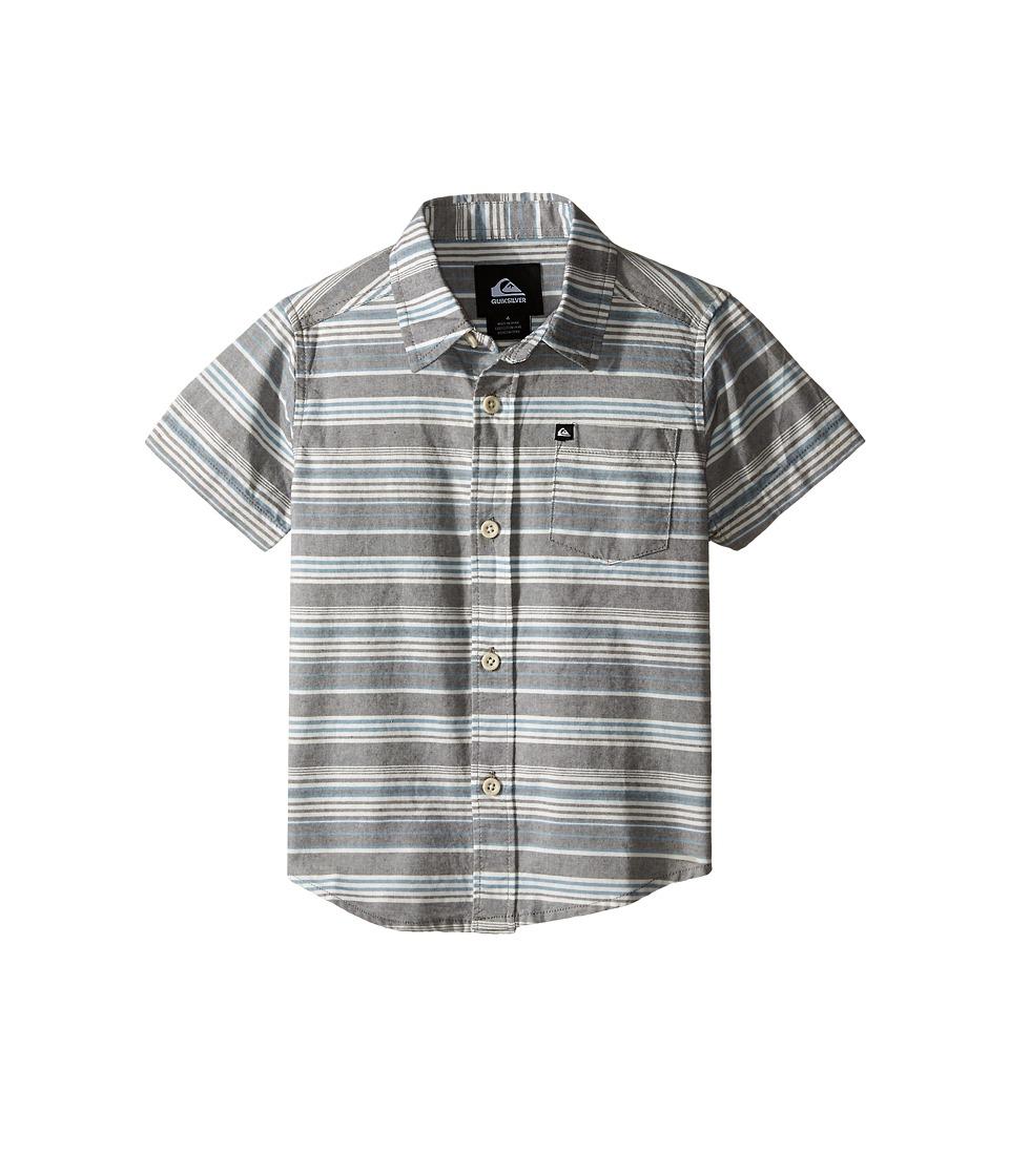 Quiksilver Kids - Rifter Shirts (Toddler/Little Kids) (Dark Shadow) Boy's Clothing
