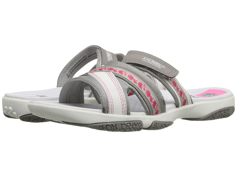Khombu - Essie (Grey/Pink) Women's Shoes