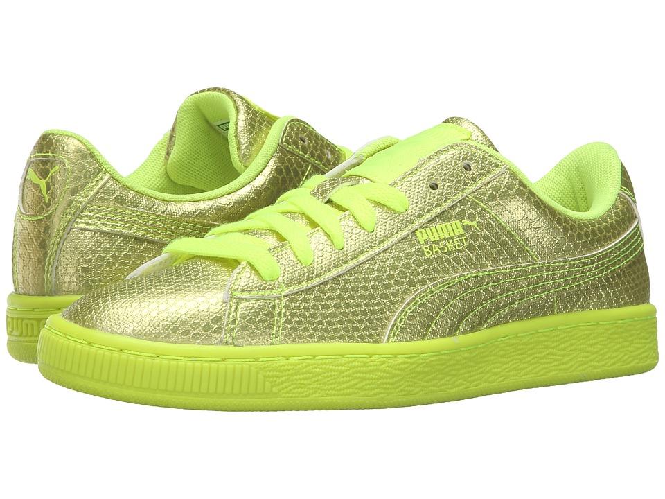 PUMA - Basket Future Minimal (Safety Yellow) Women's Basketball Shoes