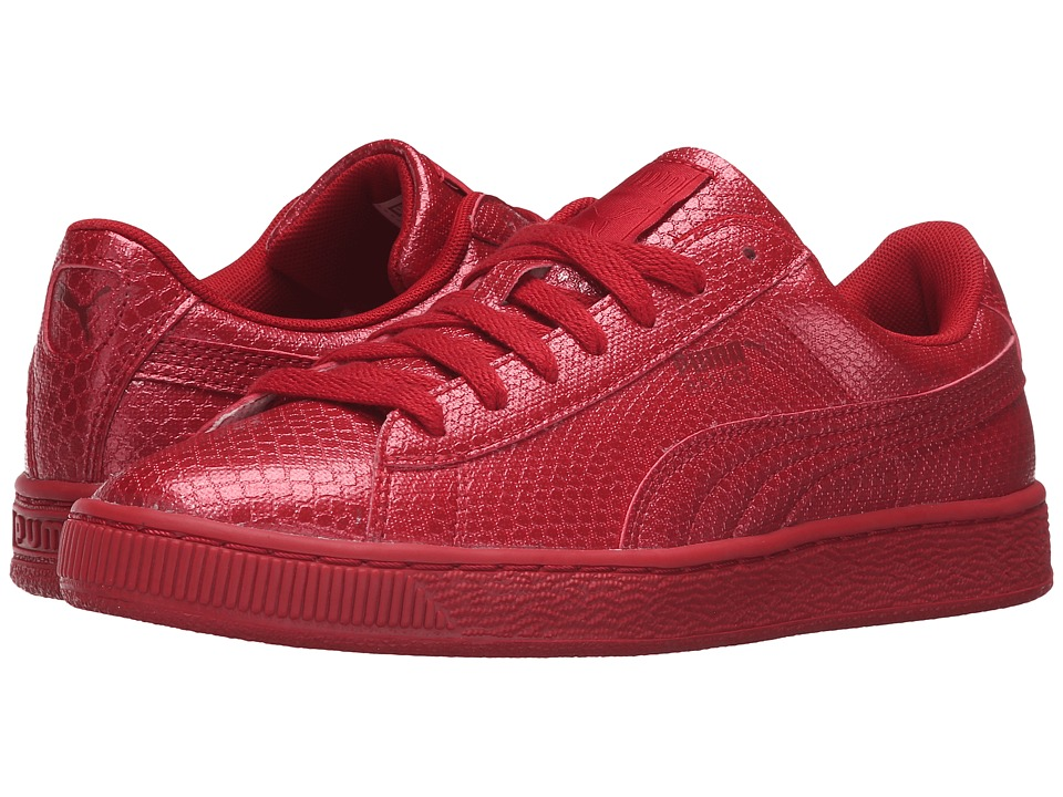 PUMA - Basket Future Minimal (Barbados Cherry) Women's Basketball Shoes