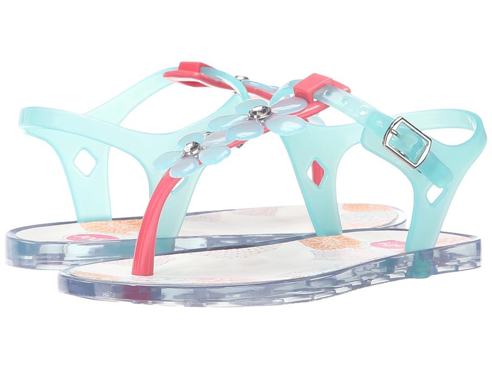 Igor - Ursula Glam (Toddler/Little Kid/Big Kid) (Coral/Crystal Aqua) Girl's Shoes