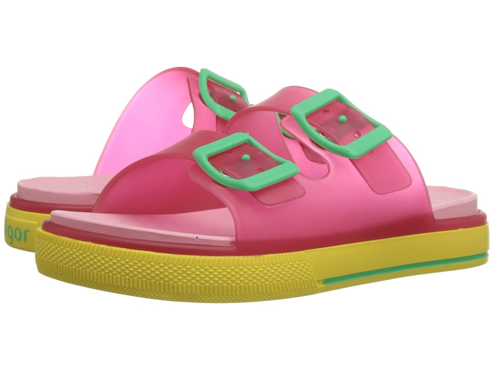 Igor - Maui (Toddler/Little Kid/Big Kid) (Transparent Fuchsia) Girl's Shoes