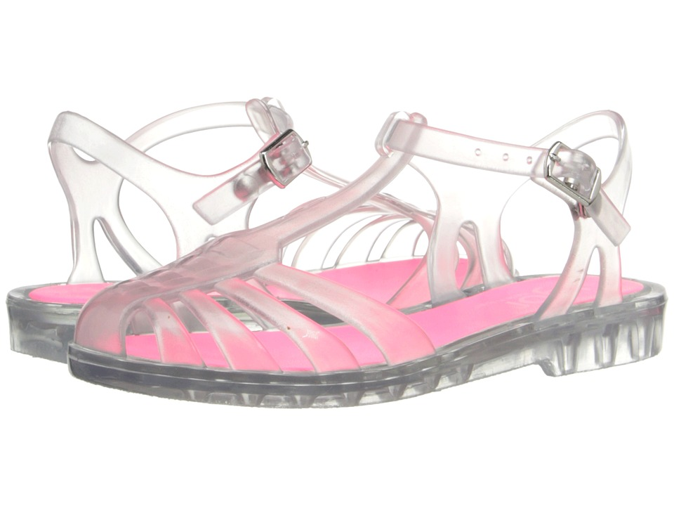 Igor - Laida Mini (Toddler/Little Kid/Big Kid) (Crystal Transparent Fuchsia) Girl's Shoes