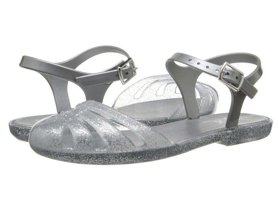 Igor - Mara Mini (Toddler/Little Kid/Big Kid) (Glitter Silver) Girl's Shoes