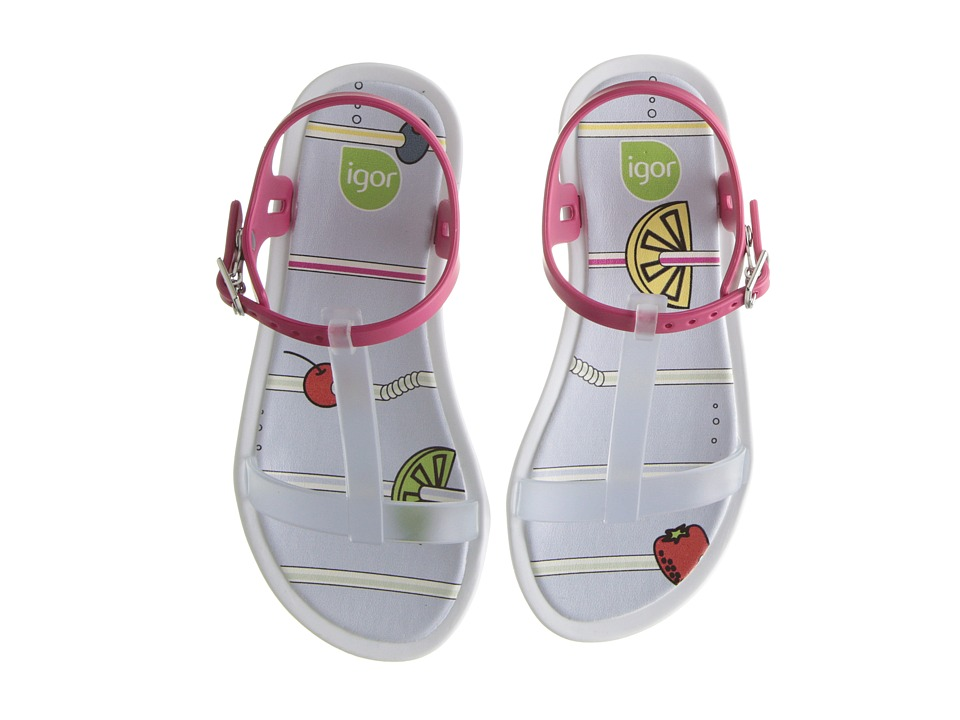 Igor - Tricia Fresh (Toddler/Little Kid/Big Kid) (Transparent/Transparent) Girl's Shoes