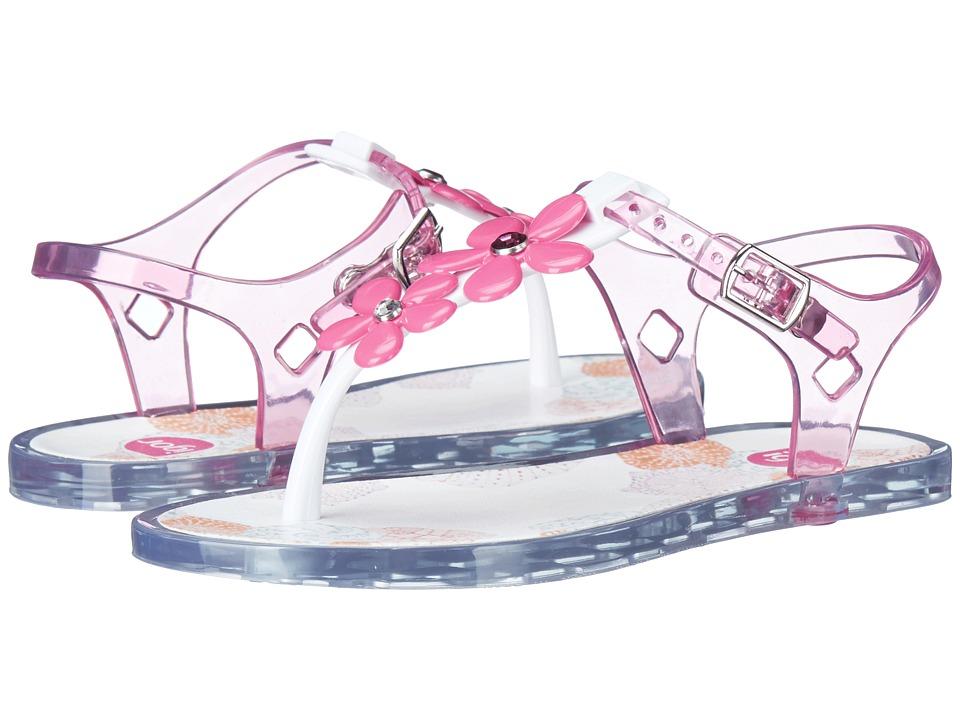 Igor - Ursula Glam (Toddler/Little Kid/Big Kid) (Blanco/Crystal Pink) Girl's Shoes