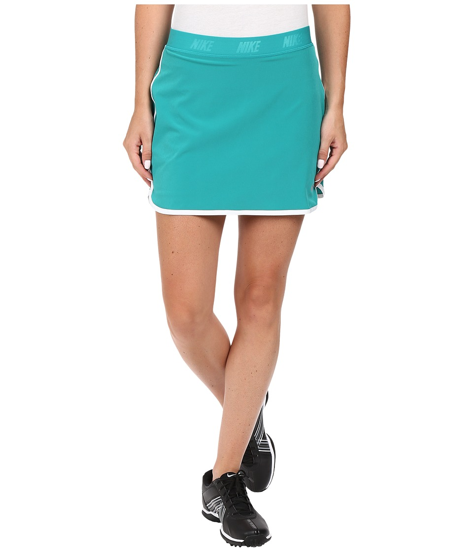 Nike Golf - Fringe Flip Skort (Teal Charge/Metallic Silver) Women's Skort