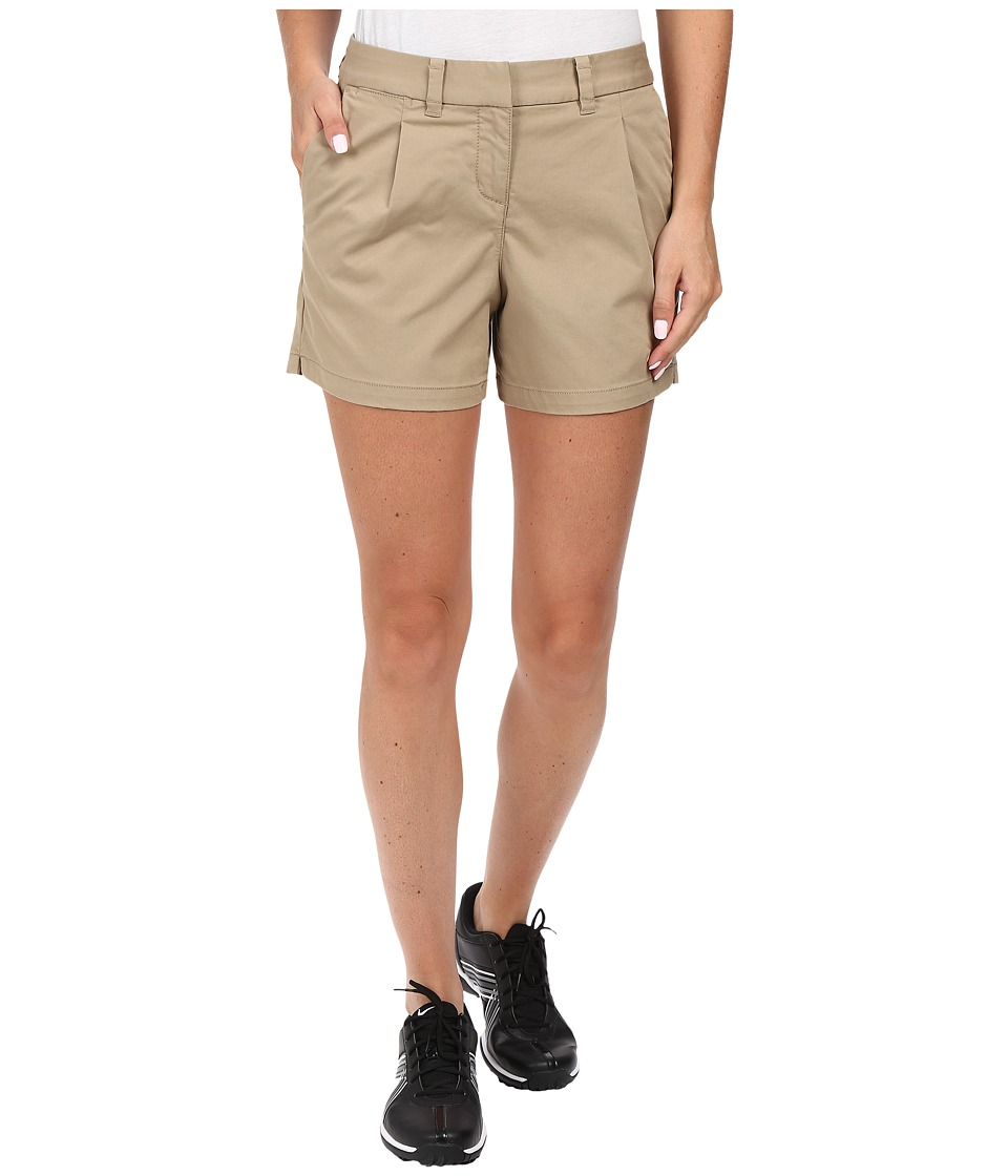 Nike Golf - Washed Drive Shorty Shorts (Khaki/Khaki) Women's Shorts