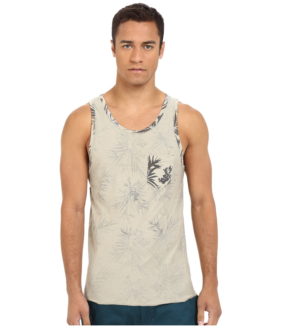 UNIONBAY - Tropix Reversible Printed Jersey Tank Top (Sugar Cane) Men's Sleeveless