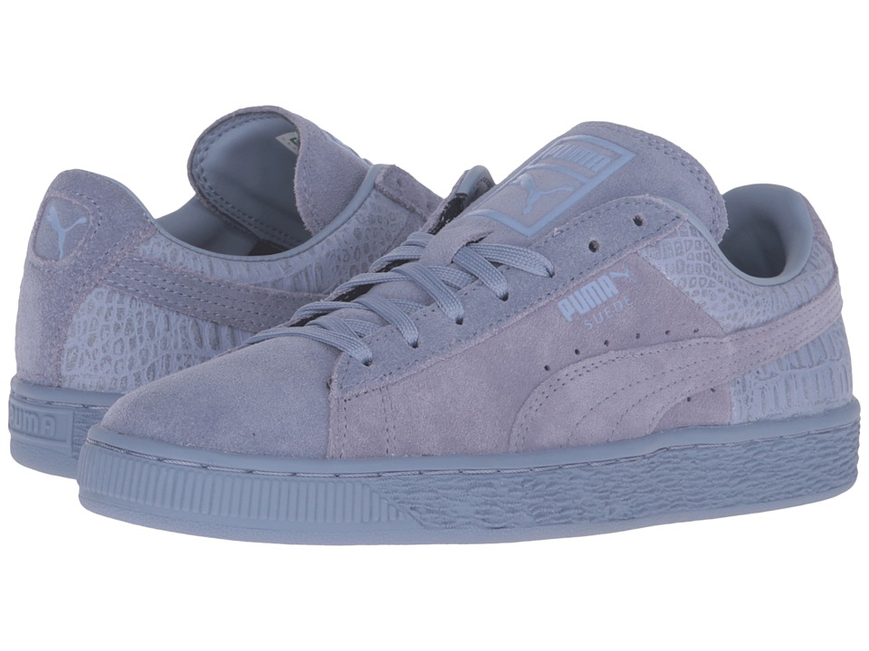 PUMA - Suede Classic Emboss (Tempest) Women's Basketball Shoes