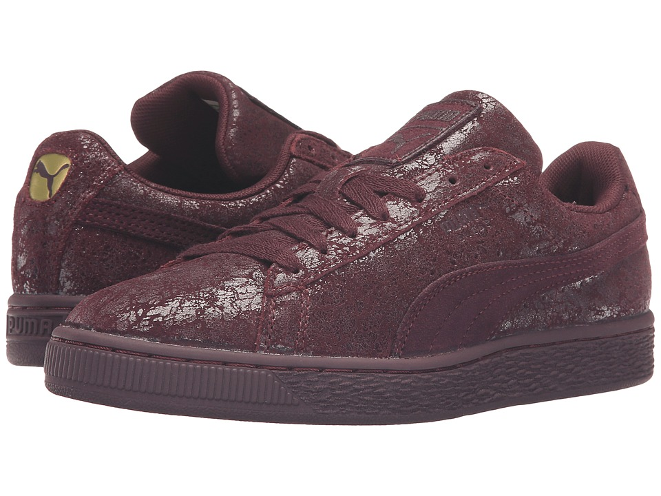 PUMA - Suede Remaster (Winetasting/Winetasting) Women's Basketball Shoes