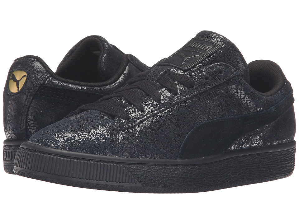 PUMA - Suede Remaster (Puma Black/Puma Black) Women's Basketball Shoes