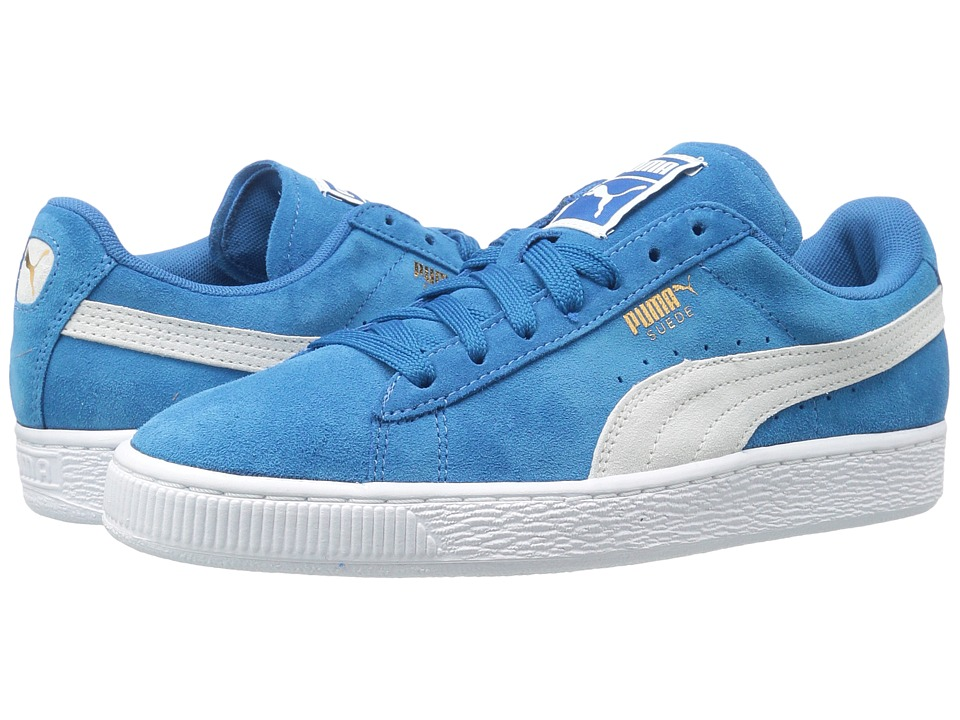 PUMA - Suede Classic (Puma Royal/Puma White) Women's Shoes