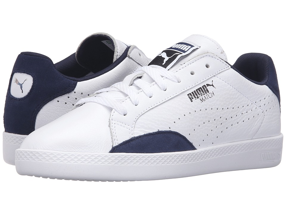PUMA - Match Lo Basic Sports (PUMA White/Peacoat) Women's Shoes