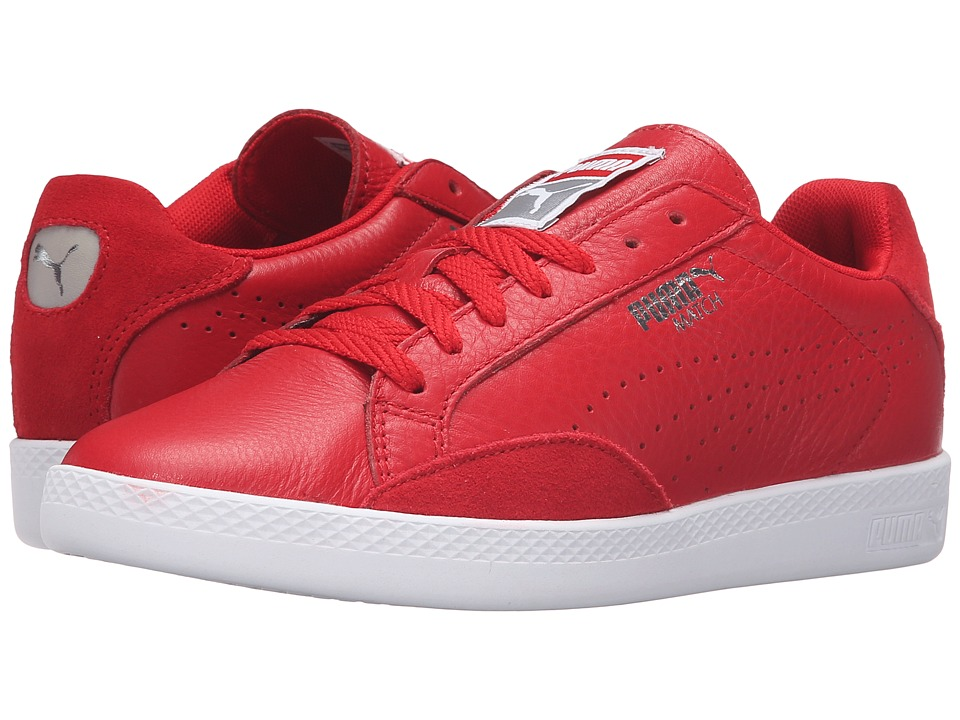 PUMA - Match Lo Basic Sports (Barbados Cherry/Barbados Cherry) Women's Shoes