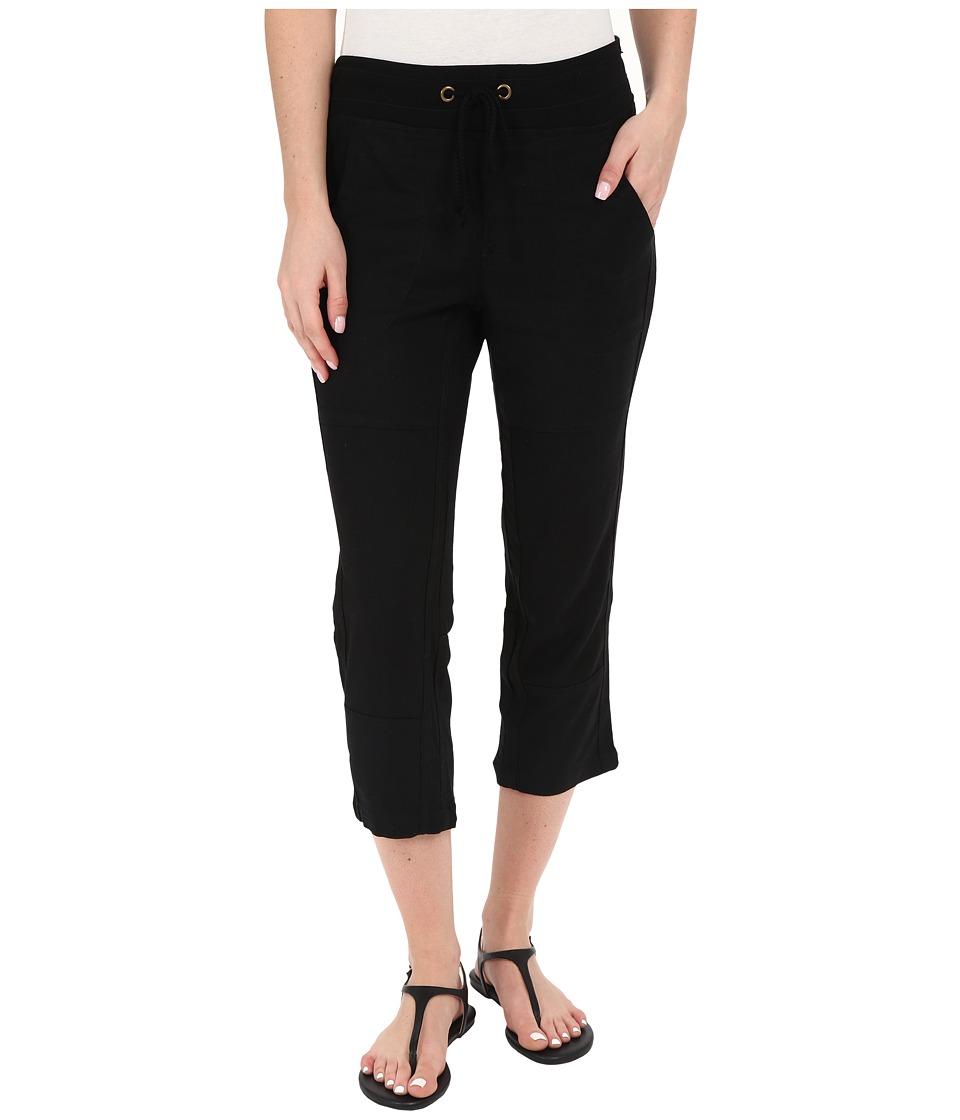 XCVI - Deondra Capris (Black) Women's Capri