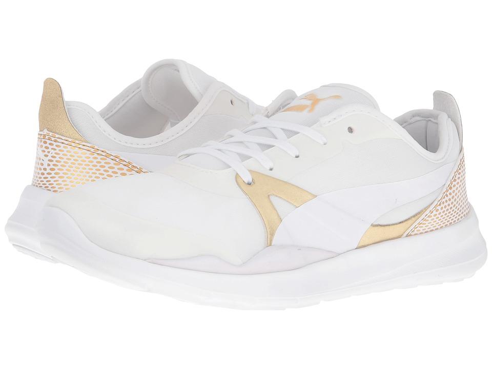 PUMA Duplex EVO Gold (Puma White) Women