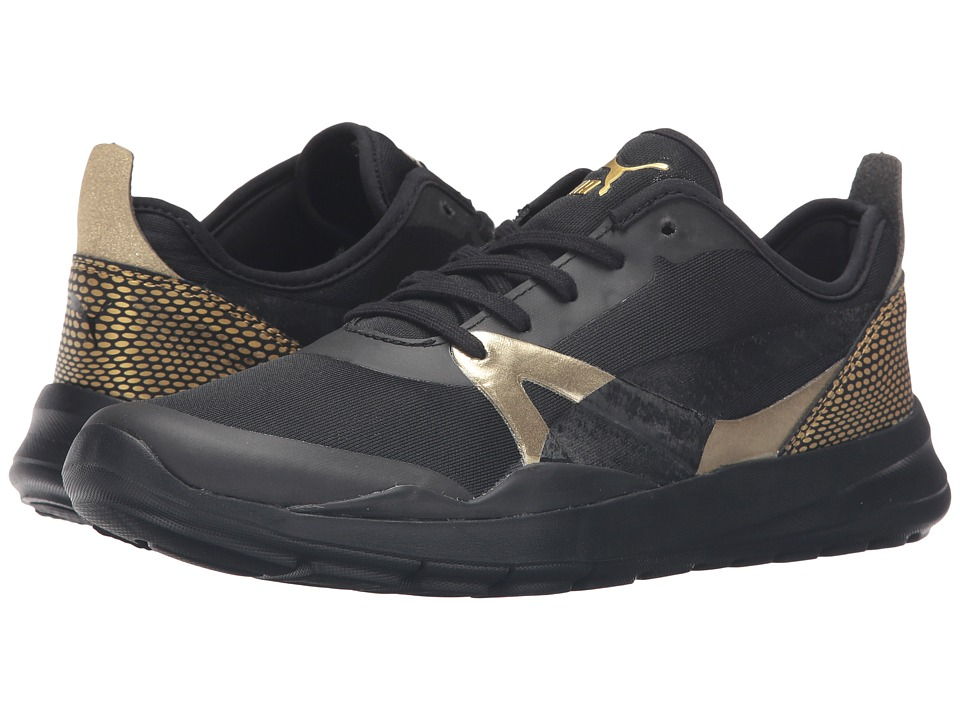 PUMA Duplex EVO Gold (PUMA Black) Women