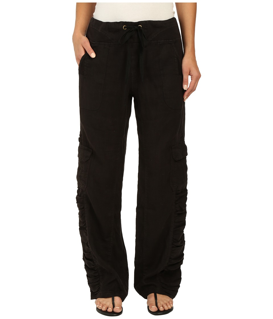 XCVI - Monte Carlo Linen Pants (Black) Women's Casual Pants