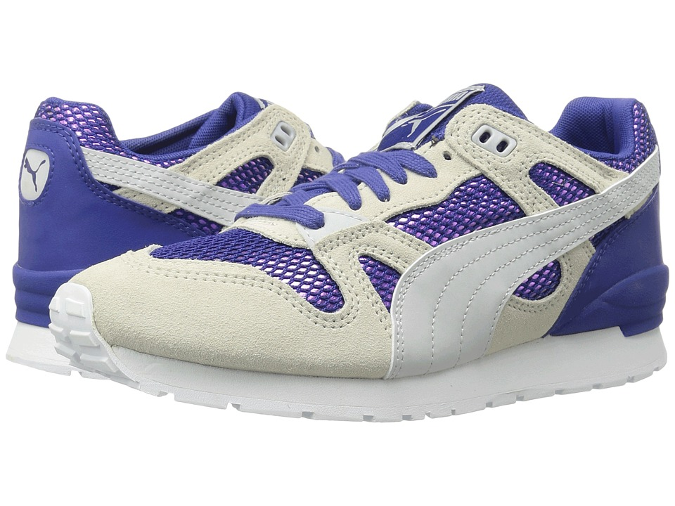 PUMA - Duplex OG Remast DC4 (Mazarine Blue/Birch/Glacier Gray) Women's Running Shoes