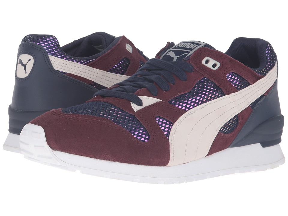 PUMA - Duplex OG Remast DC4 (Peacoat/Winetasting/Birch) Women's Running Shoes