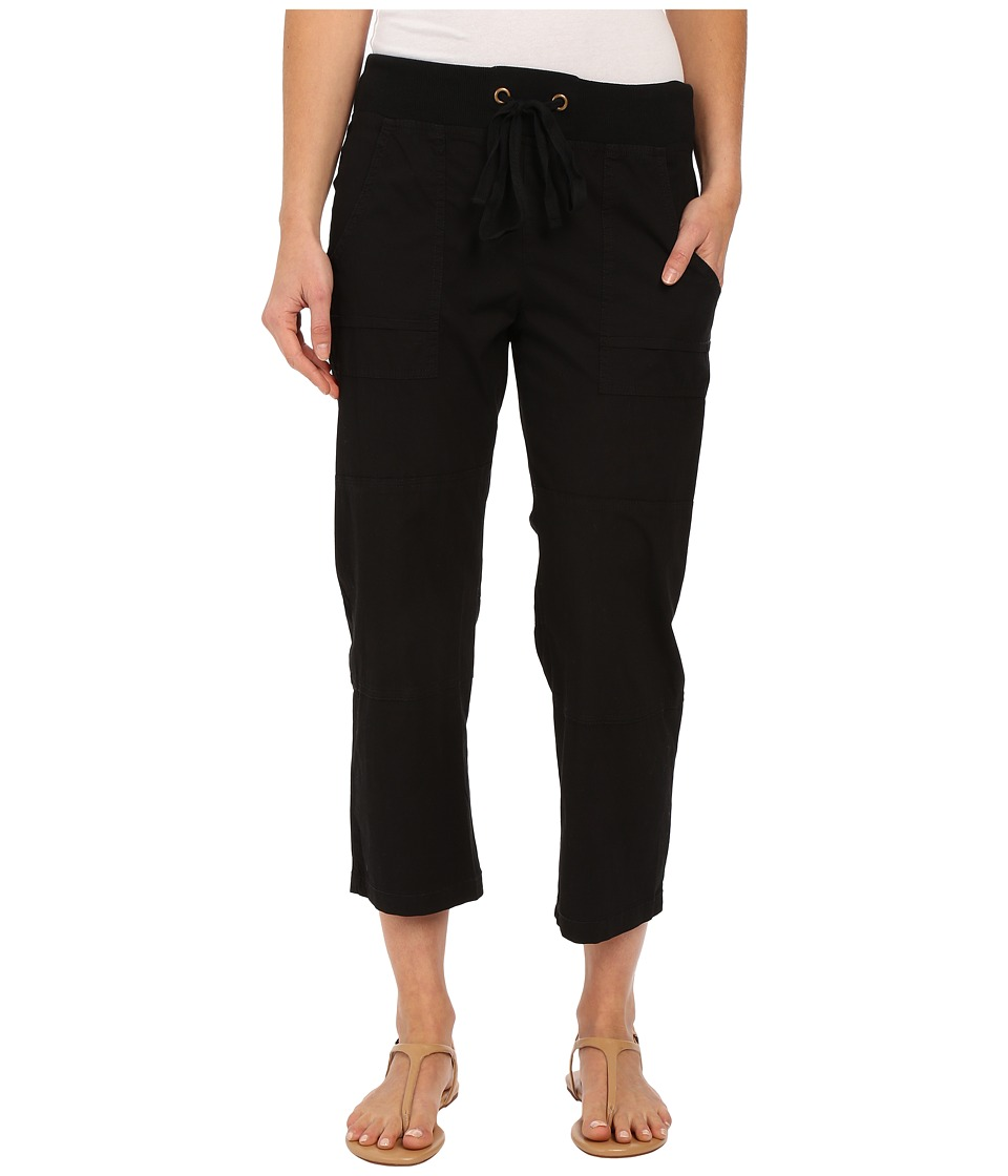 XCVI - Caden Crop (Black) Women's Clothing