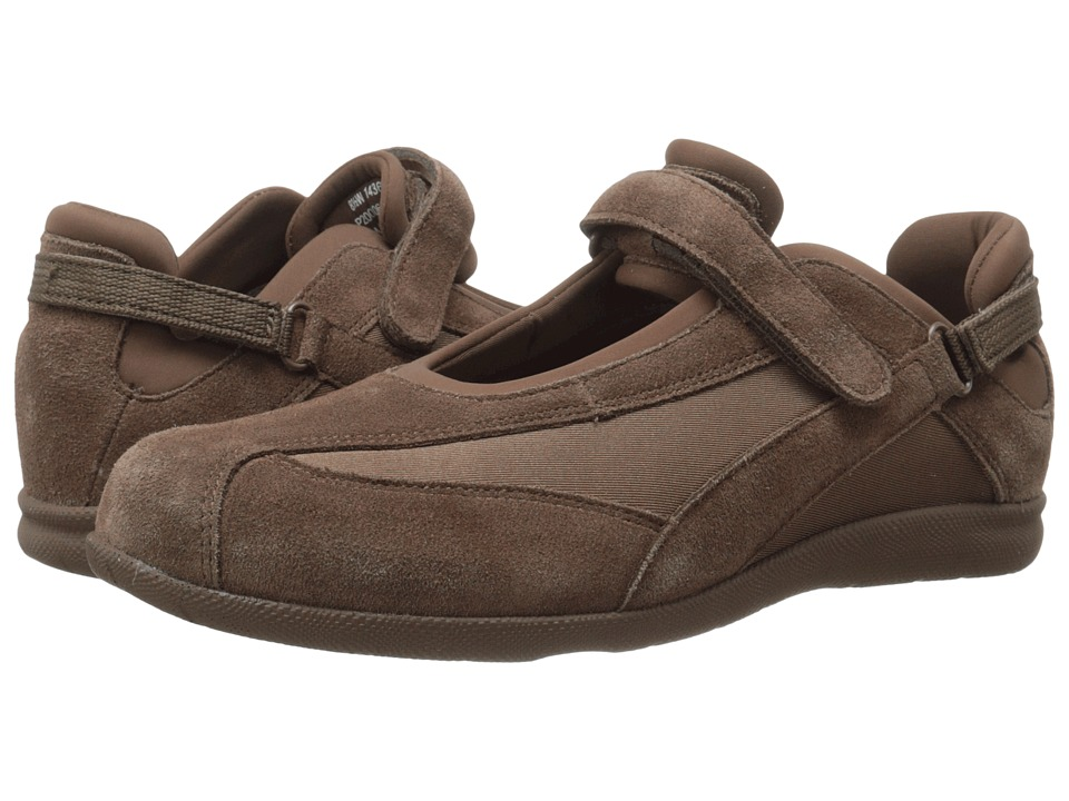 Drew - Joy (Olive Suede/Olive Stretch) Women's Maryjane Shoes