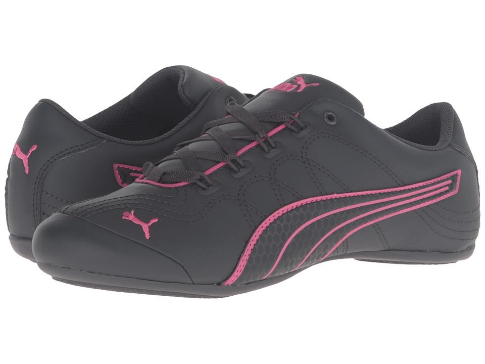 PUMA - Soleil v2 Comfort Fun (Asphalt/Fandango Pink) Women's Shoes