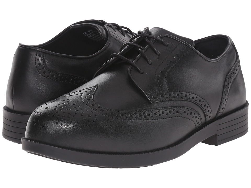 Drew - Clayton (Black Smooth Leather) Men's Shoes