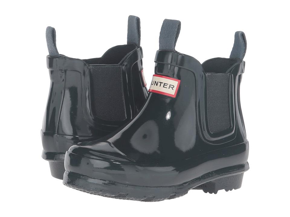 Hunter Kids - Original Chelsea Gloss (Toddler/Little Kid) (Ocean) Kids Shoes