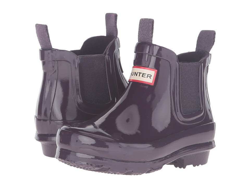 Hunter Kids - Original Chelsea Gloss (Toddler/Little Kid) (Purple Urchin) Kids Shoes