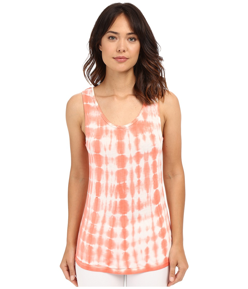 XCVI - Basic Tank Top (Bali Wash/Coral) Women's Sleeveless