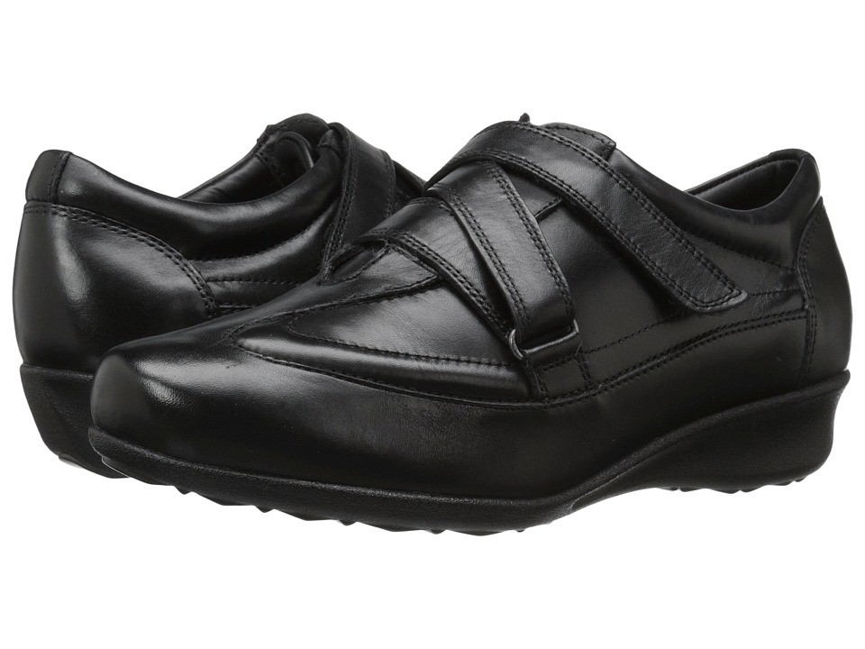 Drew - Cairo (Black Leather) Women's Shoes