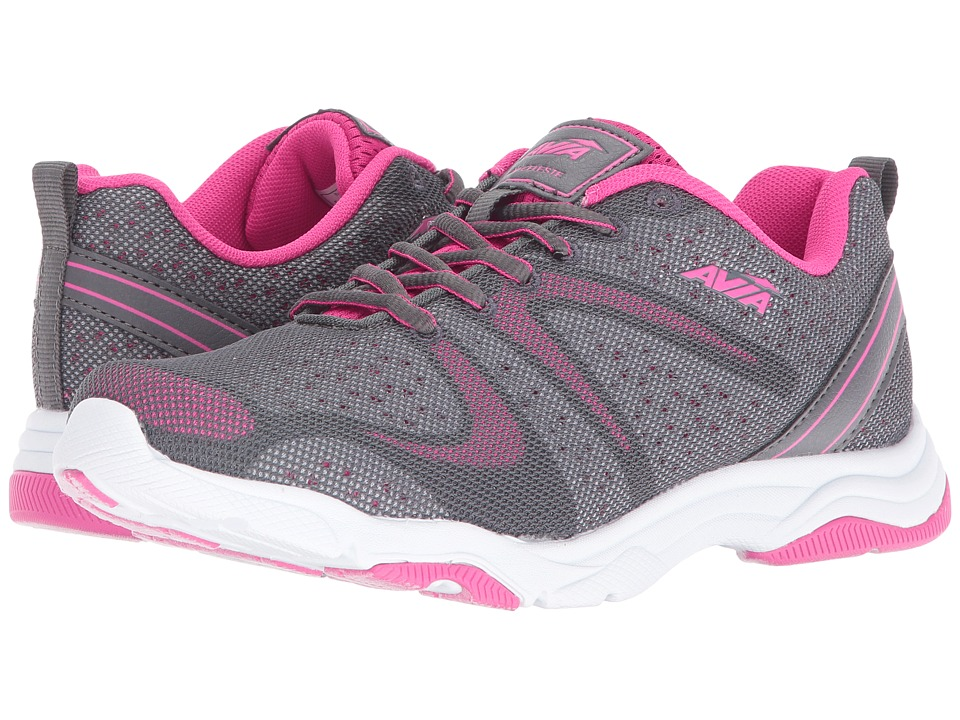 Avia Avi-Celeste (Iron Grey/Pink Energy/Cool Mist Grey/Black) Women