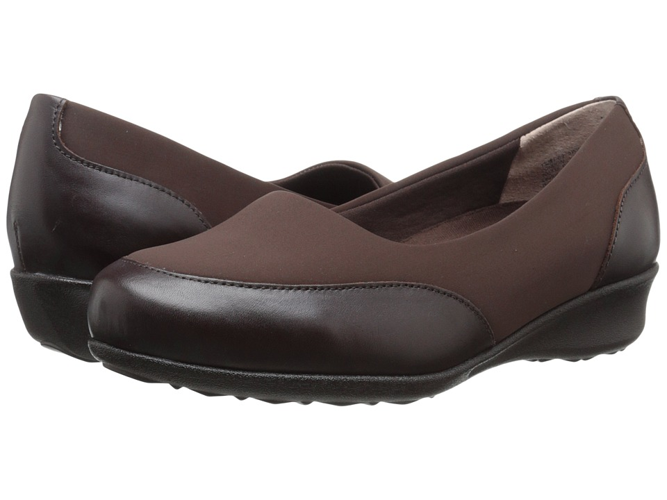 Drew - London (Brown Leather Combo) Women's Shoes
