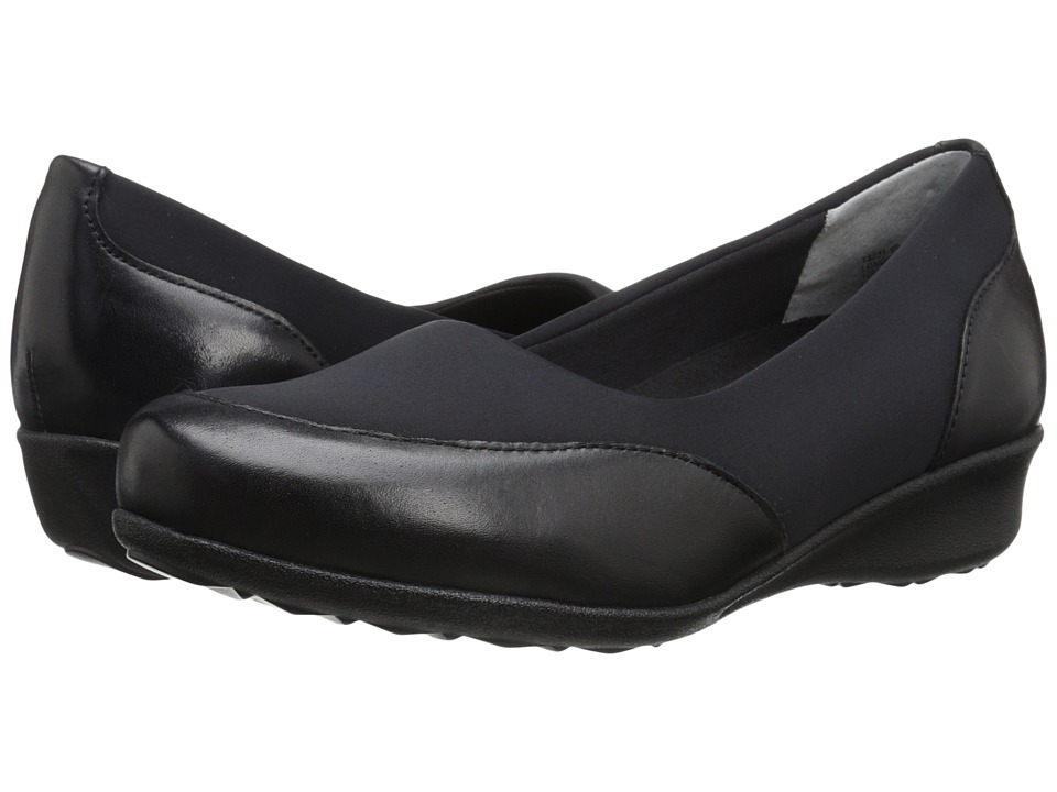 Drew - London (Black Leather Combo) Women's Shoes