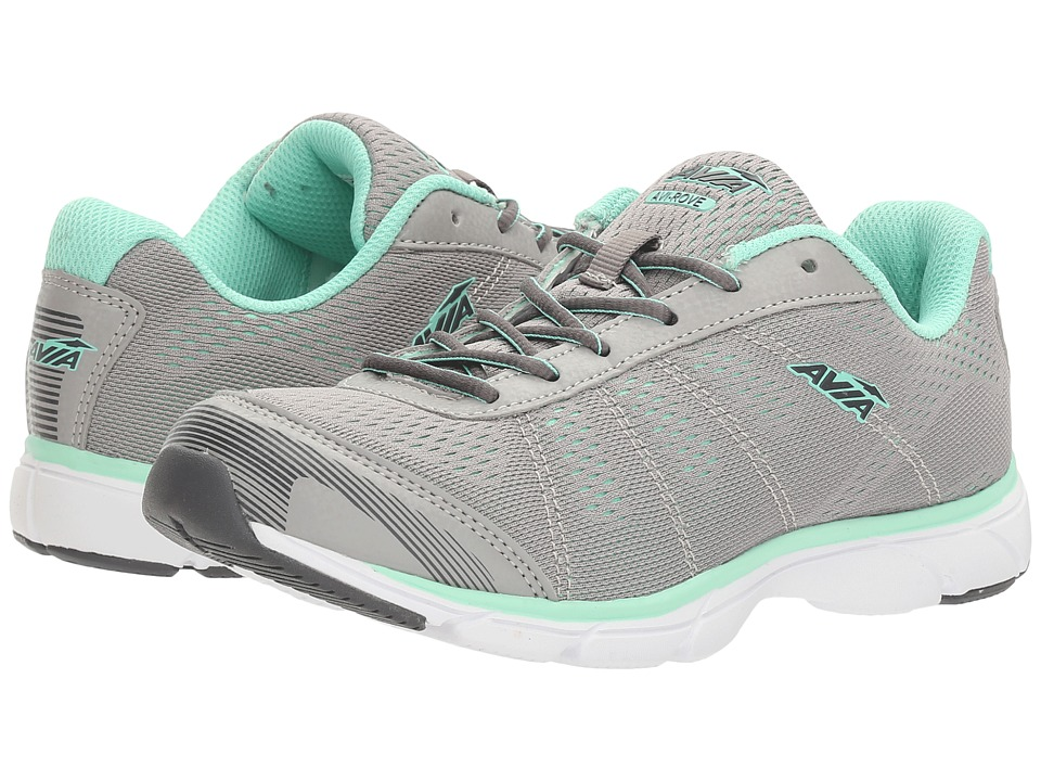 Avia - Avi-Rove (Penguin Grey/Mint Breeze/Steel Grey/White) Women's Shoes