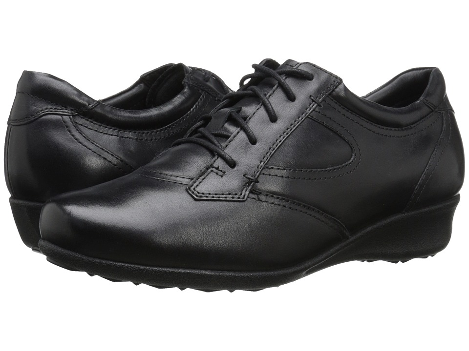 Drew - Prague (Black Leather) Women's Shoes