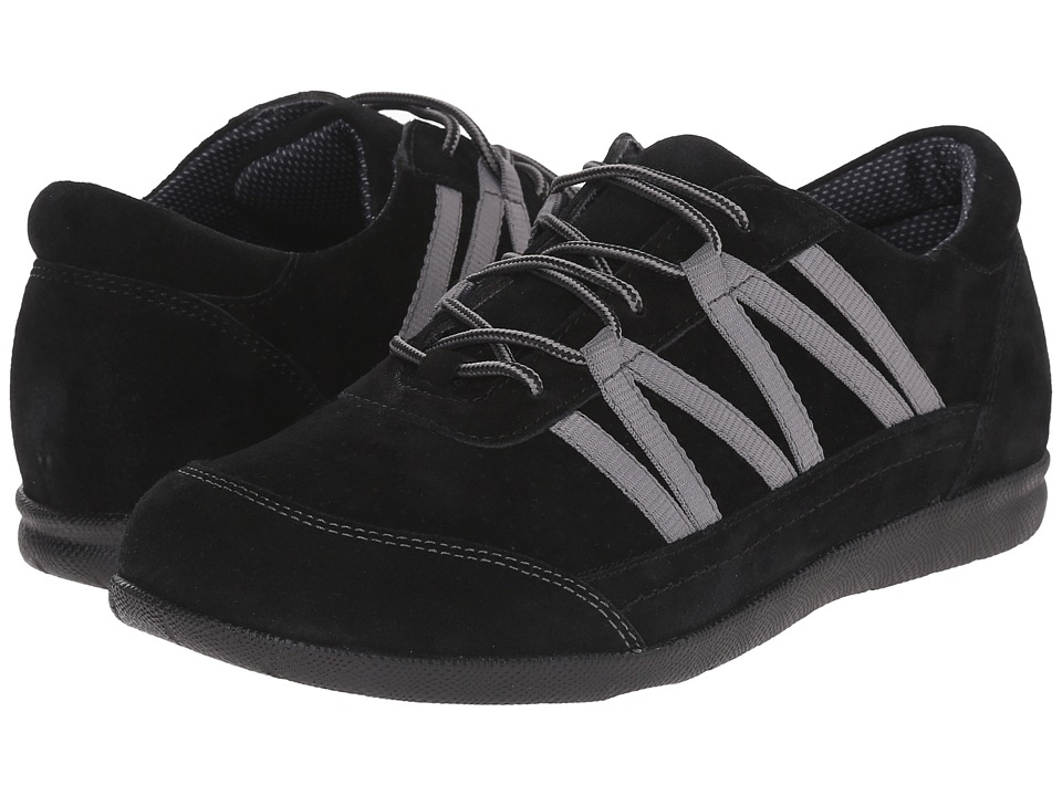 Drew - Bliss (Black Suede) Women's Shoes