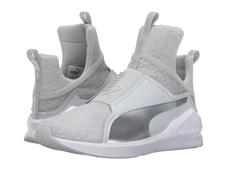 PUMA - Fierce ENG Mesh (Gray Violet/Puma White) Women's Running Shoes