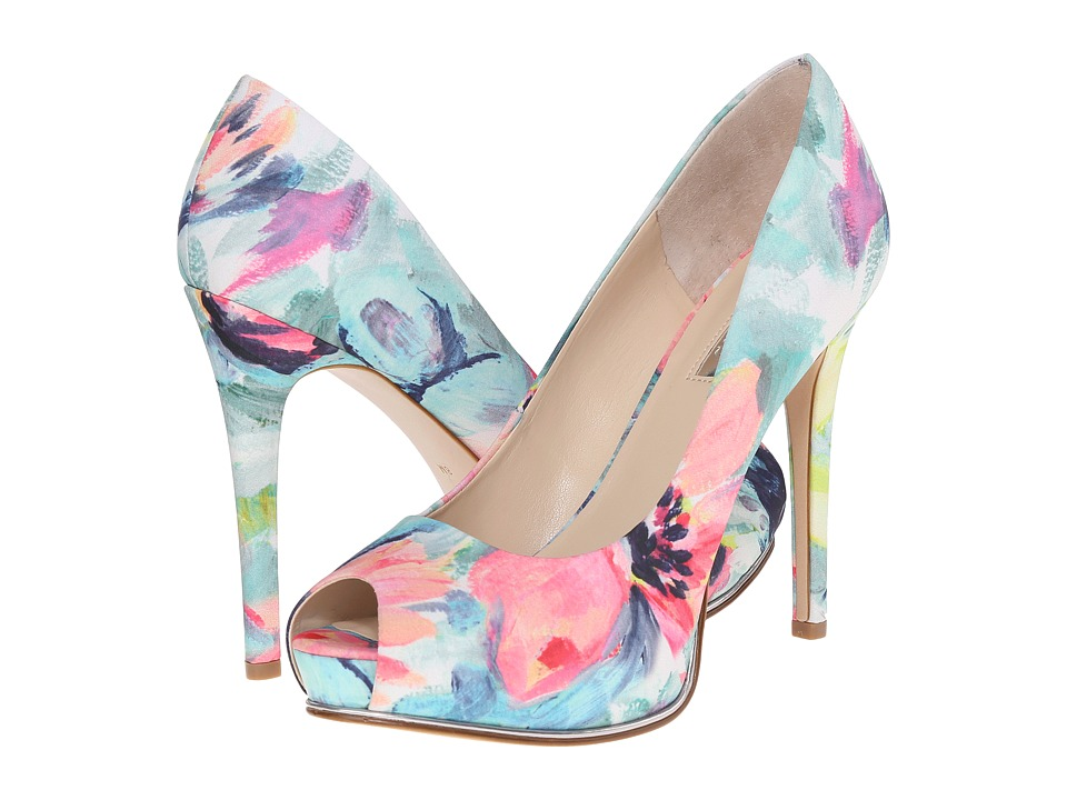 GUESS - Honora (Floral Fabric) High Heels