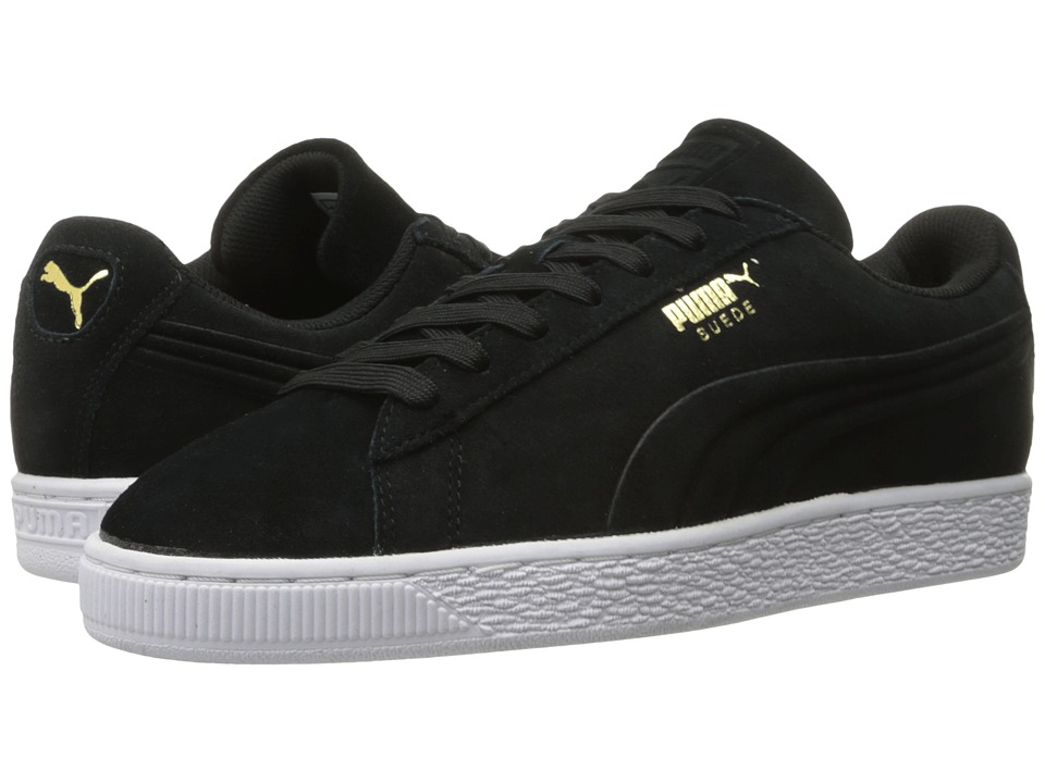 PUMA - Suede Classic Debossed Q3 (PUMA Black) Men's Basketball Shoes