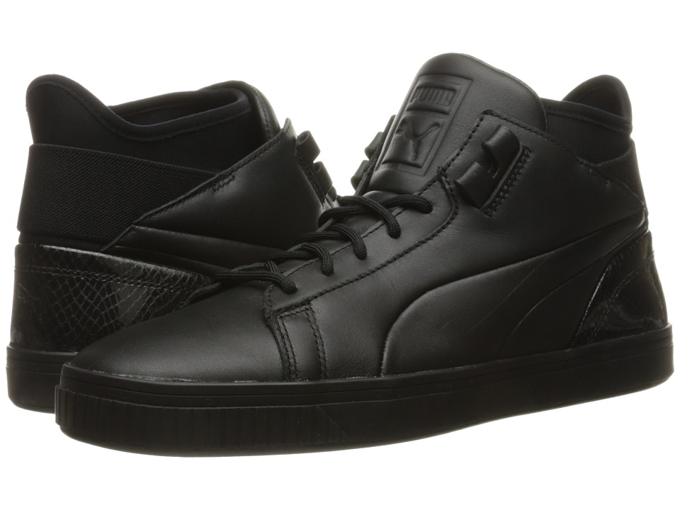 PUMA - Play Prm (Black) Men's Court Shoes