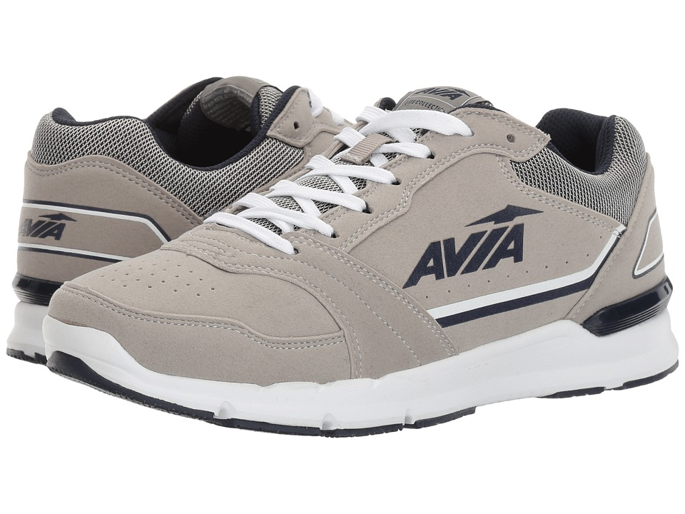 Avia - Avi-Forum (Penguin Grey/True Navy) Men's Shoes