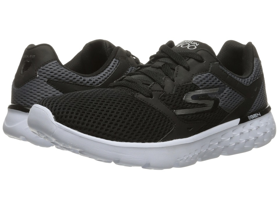 SKECHERS - Go Run 400 (Black/White) Men's Running Shoes