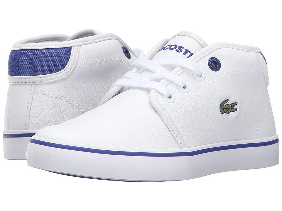 Lacoste Kids - Ampthill 316 2 SPC (Little Kid) (Dark Red) Kid's Shoes