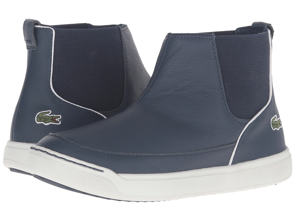 Lacoste Kids - Explorateur Chelsea 316 1 CAC (Little Kid) (Navy) Kid's Shoes