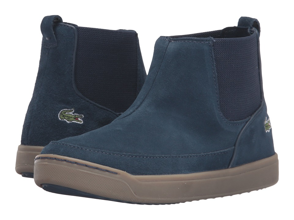 Lacoste Kids - Explorateur Chelsea 316 2 CAC (Little Kid) (Navy) Kid's Shoes