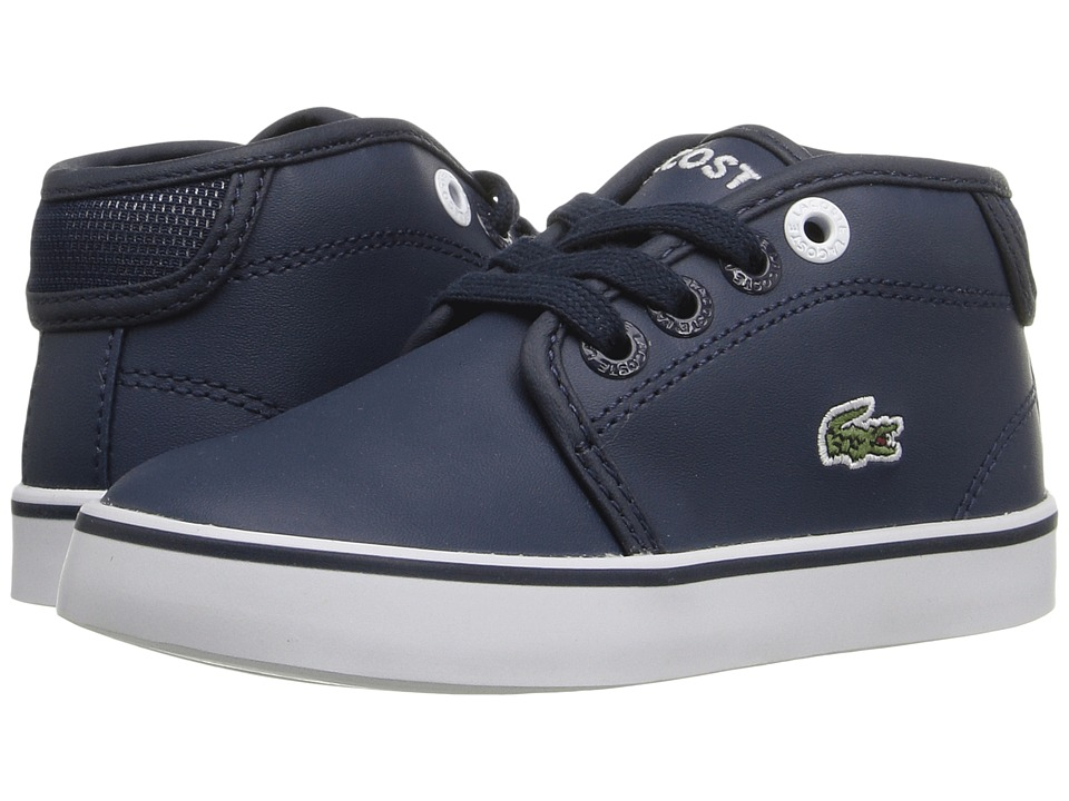 Lacoste Kids - Ampthill 316 2 SPI (Toddler/Little Kid) (Navy) Kid's Shoes