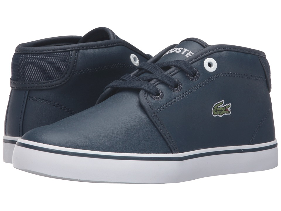 Lacoste Kids - Ampthill 316 2 SPC (Little Kid) (Navy) Kid's Shoes